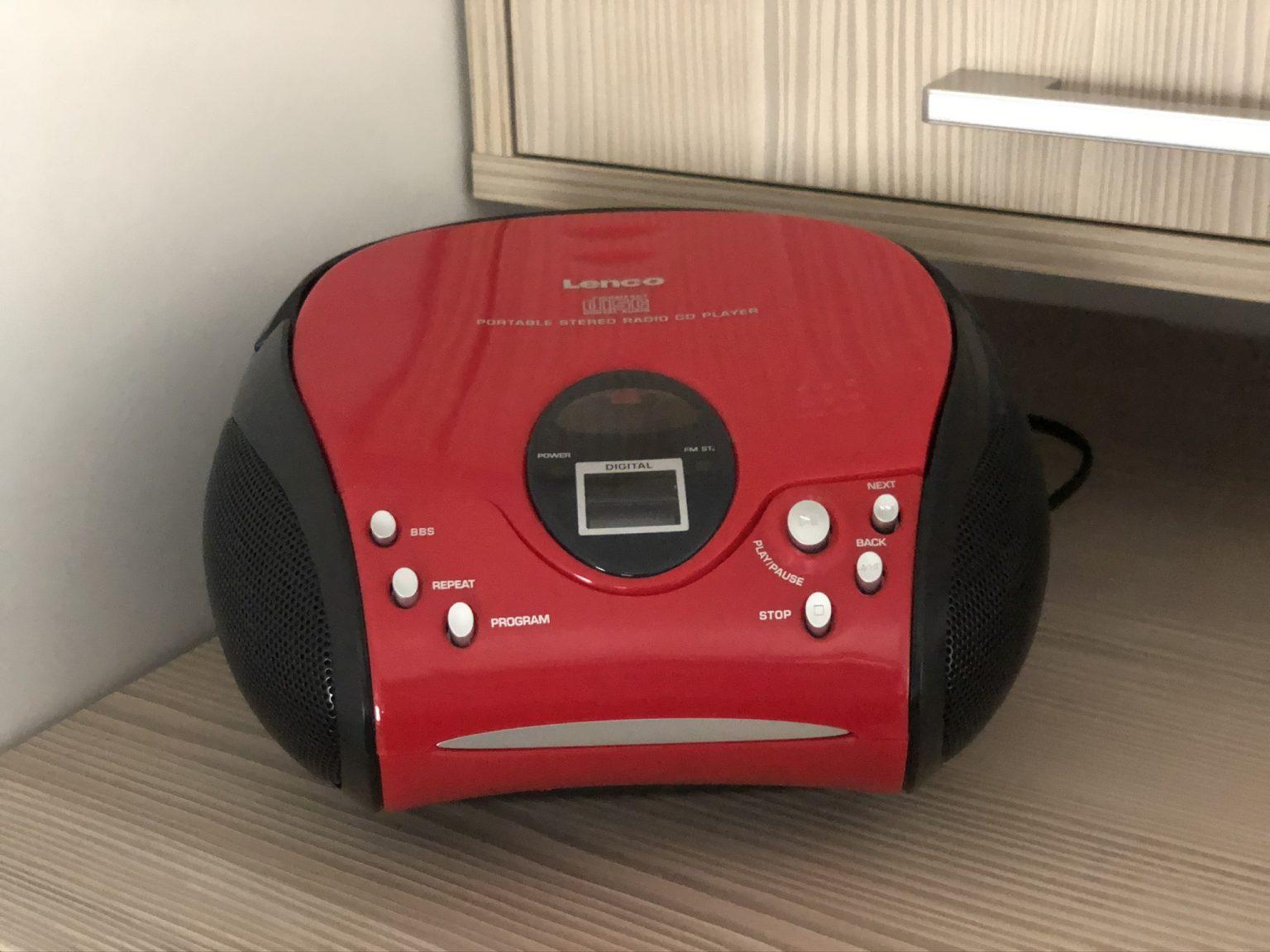 CD speler met FM radio
